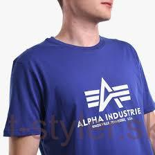 Alpha industries Basic T-shirt - nautika blue