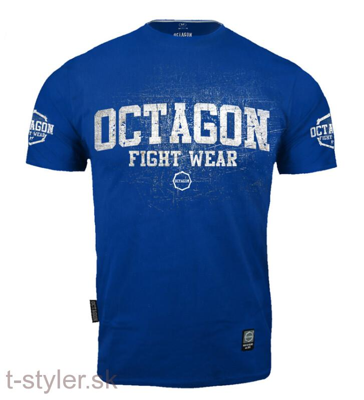 Octagon tričko  FIGHT WEAR II BLUE