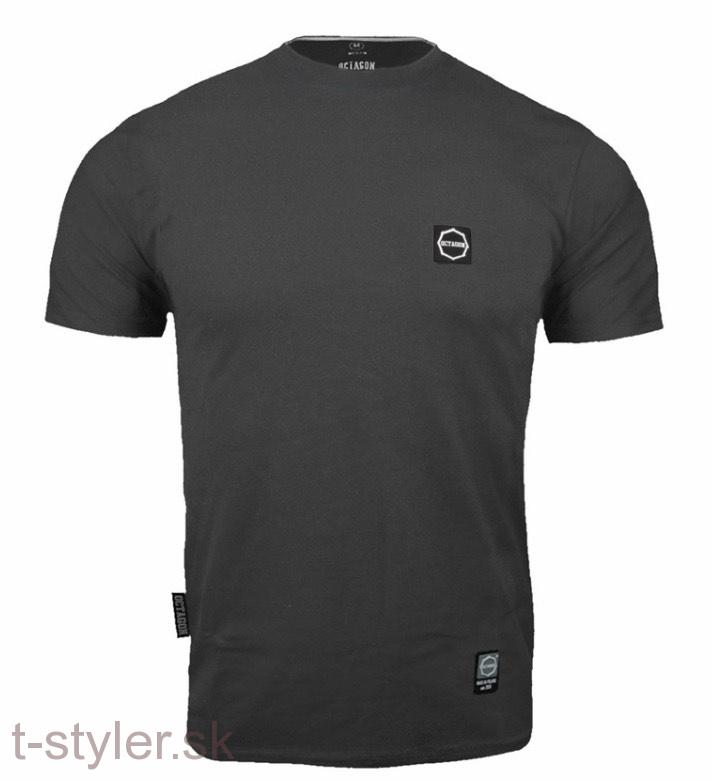 Octagon - T-shirt - Small Logo - Graphite