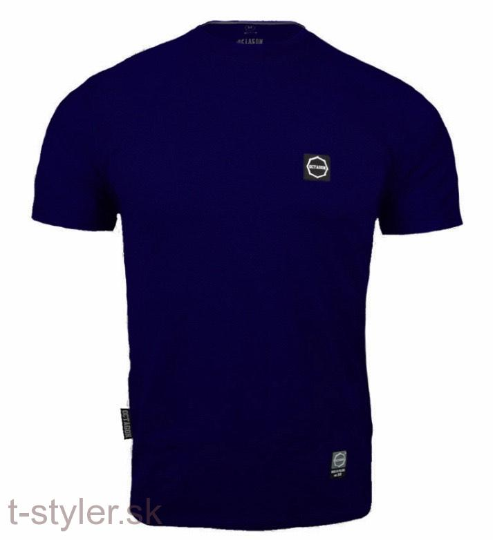 Octagon - T-shirt - Small Logo - Dark Navy