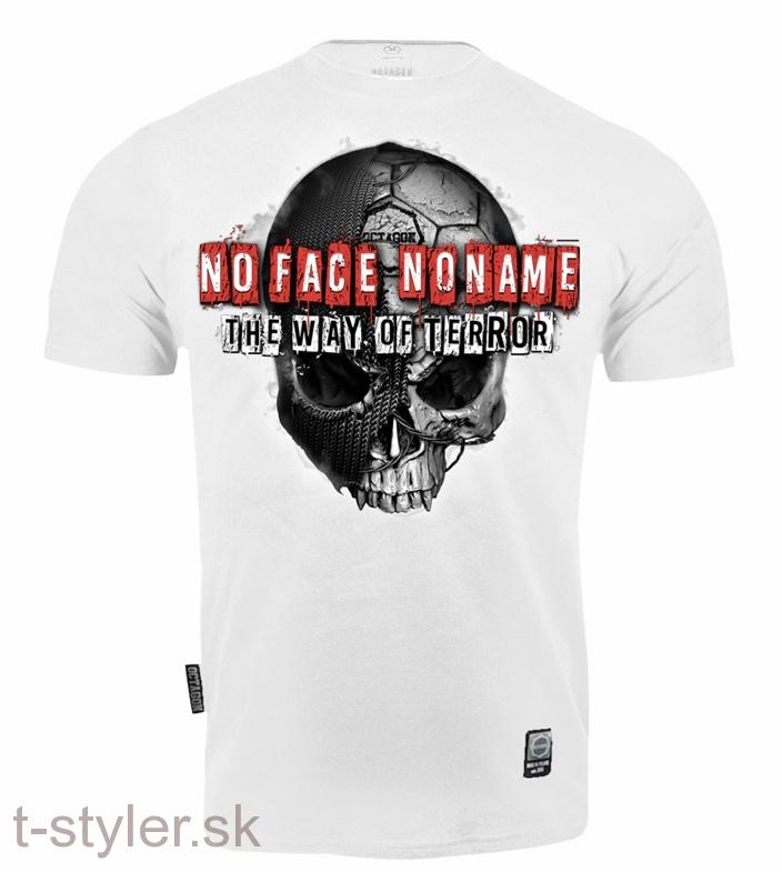 Octagon - T-shirt - No Face No Name 2 - White