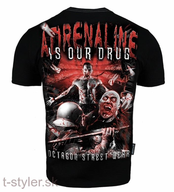 Octagon - T-shirt - Adrenaline Is Our Drug